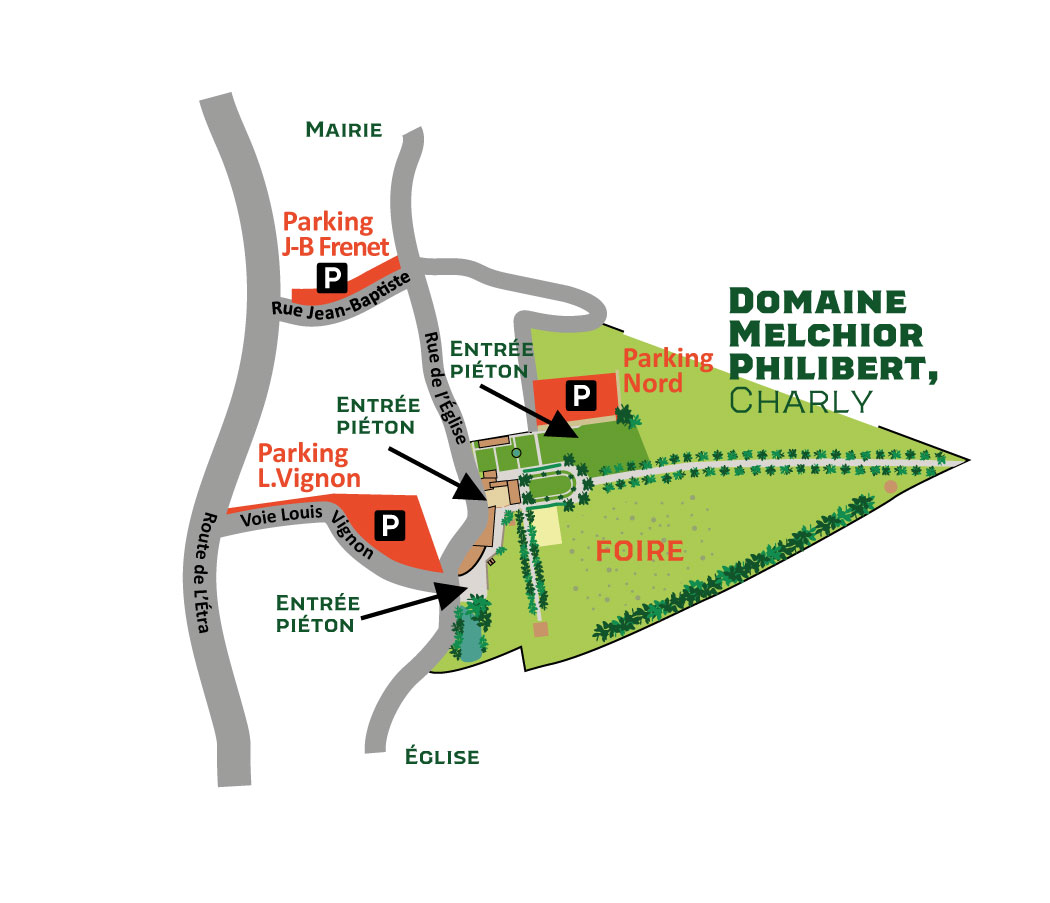 Map domaine melchior Philibert
